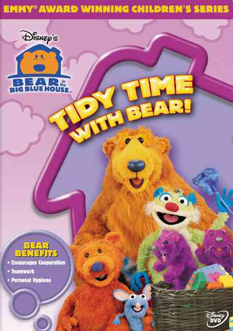 BEAR IN THE BIG BLUE HOUSE:TIDY TIME BY BEAR IN THE BIG BLUE (DVD)